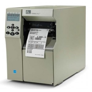 Zebra 105SL Plus Tag printer